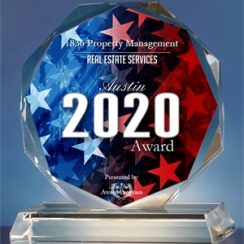 real estate services award austin 2020