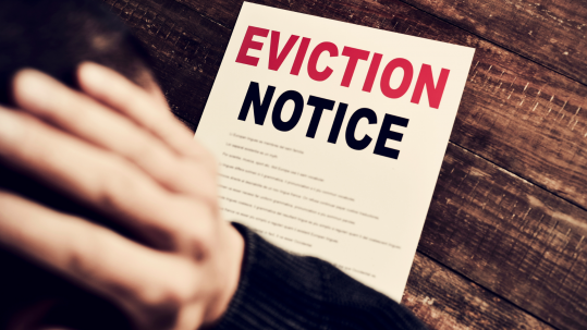 eviction notice - blog feature image